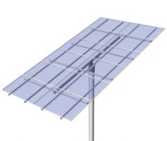 DPW Solar Universal Top of Pole Mount for Twelve Type G Solar Modules