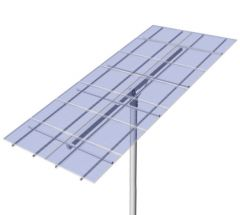 DPW Solar Universal Top of Pole Mount for Fourteen Type G Solar Modules