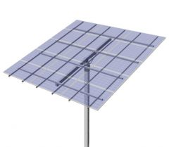 DPW Solar Universal Top of Pole Mount for Fifteen Type G Solar Modules