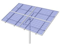 DPW Solar Universal Top of Pole Mount for Four Type G Solar Modules