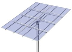 DPW Solar Universal Top of Pole Mount for Eight Type G Solar Modules