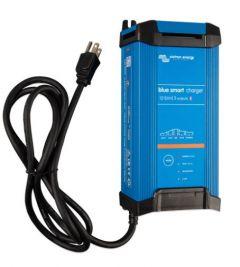 Victron Energy BPC123048102 Blue Smart IP22 12/30 120VAC Three Outputs NEMA 5-15P Battery Charger