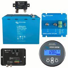 Victron Energy LiFePO4 12.8V/200Ah Smart Battery Kit