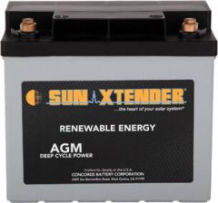 Sun Xtender PVX-340T AGM sealed battery