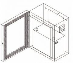 Pole Mount Enclosure For 1 Concorde PVX-1080T Battery