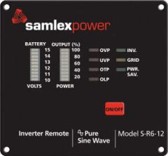 Samlex Remote Control for 12 Volt SA Series Inverters 1,000 Watts and Higher