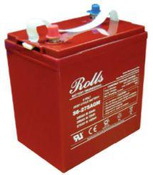 Surrette 6 Volt Sealed S6-275 AGM Deep Cycle Battery 250 Amp-hour