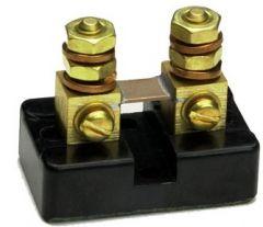 Deltec 100 amp, 100 millivolt current shunt