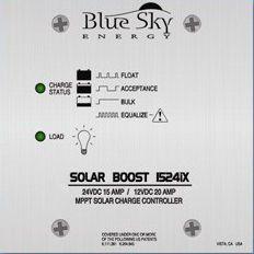 Blue Sky SB1524iX MPPT Solar Charge Controller, 12/24 Volt