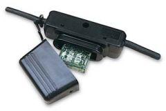 Inline Maxi fuse holder with crimp terminals