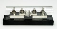 FB-400T 400 amp fuse with holder, Bolt Terminals