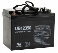 Universal Battery 35 Amp-hours AGM Sealed Battery