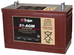Trojan 31-AGM 12 Volt, 100 AH Deep Cycle AGM Battery