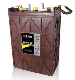 Trojan L16RE-2V 1110 AH 2-Volt Deep Cycle Battery