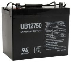 Universal Battery 75 Amp-hours AGM Sealed Battery