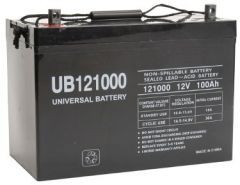 Universal Battery 100 Amp-hours AGM Sealed Battery