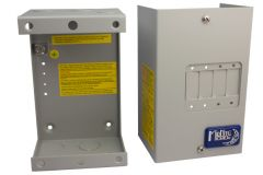 Midnite Solar MNEDCQUAD Enclosure for 1-4 Panel Mount Breakers