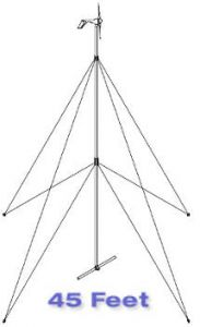 Primus Wind Power 45 Foot AIR Guyed Tower Kit