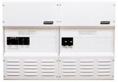 Magnum Panel for Four MS-PAE Inverters - 250A DC, Dual 30A AC