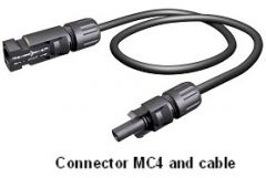 MC4 8 Foot Extender Cable
