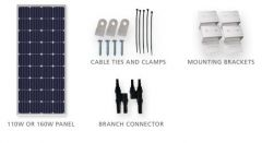 Xantex Solar 780-0100-02 100 Watt Solar Expansion Kit