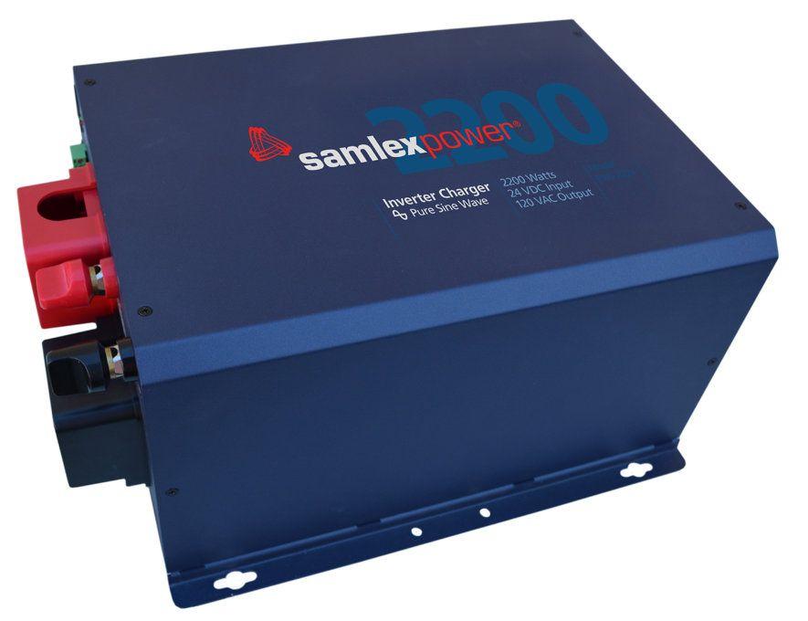 Samlex EVO-2224 2200 Watt 24 Volts DC Inverter  Charger with Transfer Switch