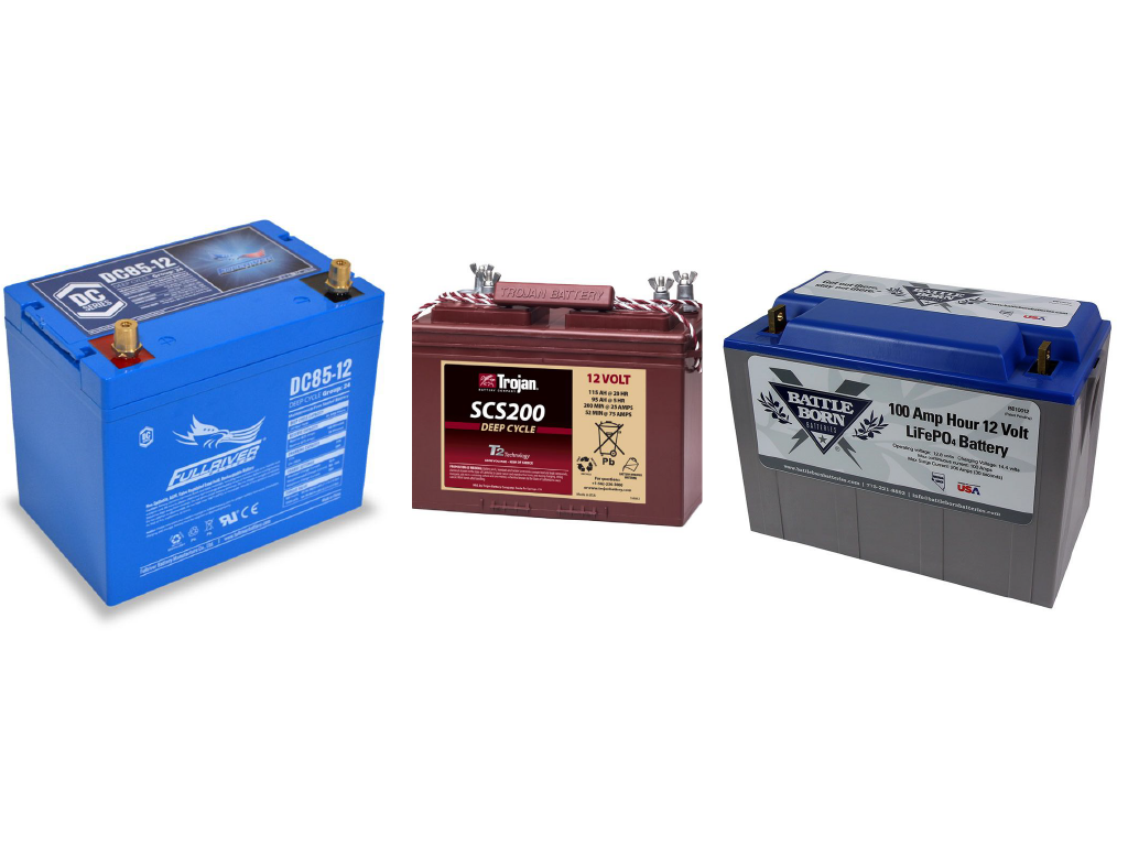 Deep Cycle Battery Types Comparisons Northern Arizona Wind Sun