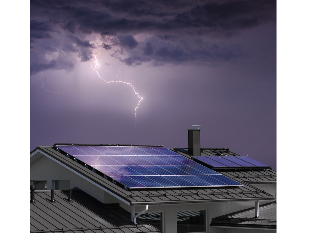 Solar Lightning and Lightning Protection