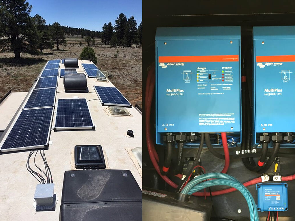 Solarland SLP160S-12 Monocrystalline 160 Watt Panels and Battle Born BB5024 Lithium Ion LiFePO4 Batteries